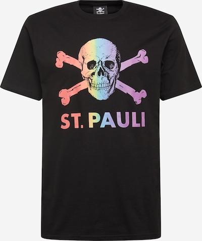 Tricou 'Regenbogen' FC St. Pauli pe mai multe culori / negru, Vizualizare produs
