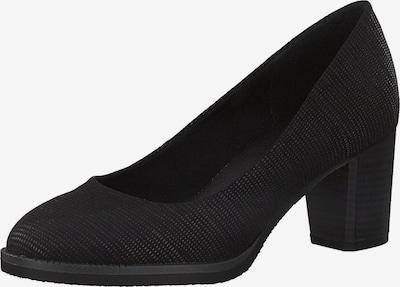 MARCO TOZZI Zapatos con plataforma en gris moteado / negro, Vista del producto