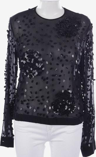 Ungaro Seidenbluse in L in schwarz, Produktansicht