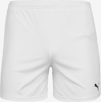 PUMA Trainingsshort 'Team Goal 23 Knit' in schwarz / weiß, Produktansicht