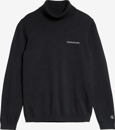 Pulover Calvin Klein Jeans pe negru, Vizualizare produs