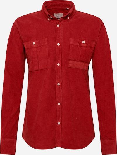 forét Hemd 'FROG' in rot, Produktansicht