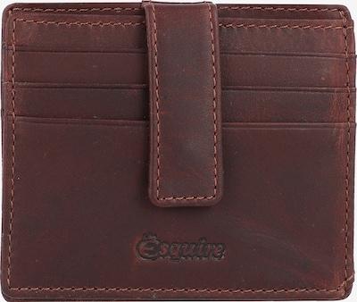 Esquire Oslo Kreditkartenetui RFID Leder 10 cm in braun, Produktansicht