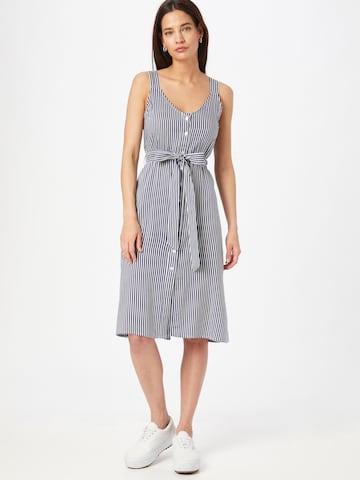 ABOUT YOU Košeľové šaty 'Freya' - Modrá