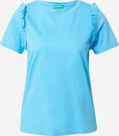 UNITED COLORS OF BENETTON Paita värissä neonsininen: Näkymä edestä