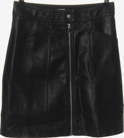 Pimkie Kunstlederrock in XXS in schwarz, Produktansicht