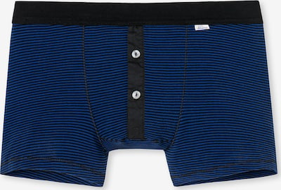SCHIESSER REVIVAL Boxershorts in royalblau / schwarz, Produktansicht