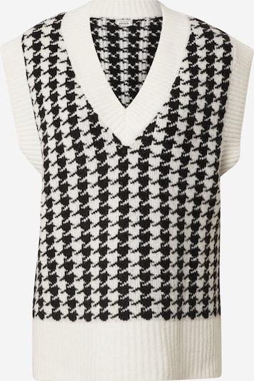 Pimkie Pullover 'Vonny' in schwarz / weiß, Produktansicht