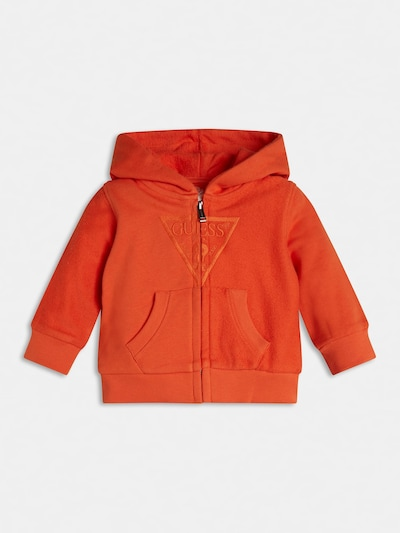 GUESS KIDS Sweatshirt in dunkelorange, Produktansicht