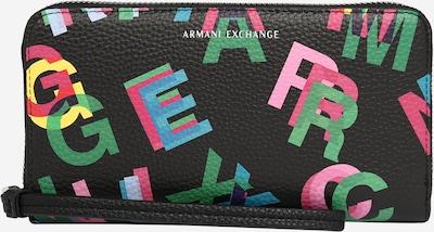 ARMANI EXCHANGE Portemonnaie in mischfarben / schwarz, Produktansicht