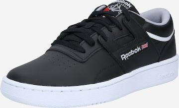 Reebok Classics Matalavartiset tennarit 'CLUB WORKOUT' värissä musta