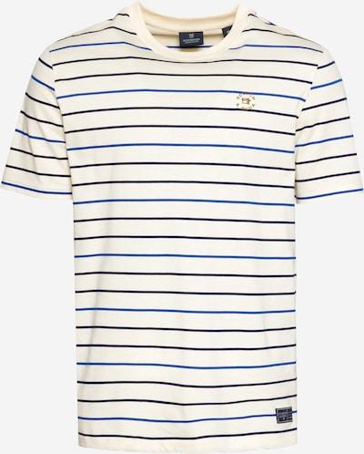 SCOTCH & SODA Shirt in de kleur Navy / Royal blue/koningsblauw / Goudgeel / Wit, Productweergave