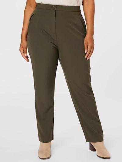 Guido Maria Kretschmer Curvy Collection Pants 'Lisa' in Khaki, View model