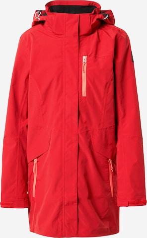 ICEPEAK Outdoorjakke 'BELFORT' i rød