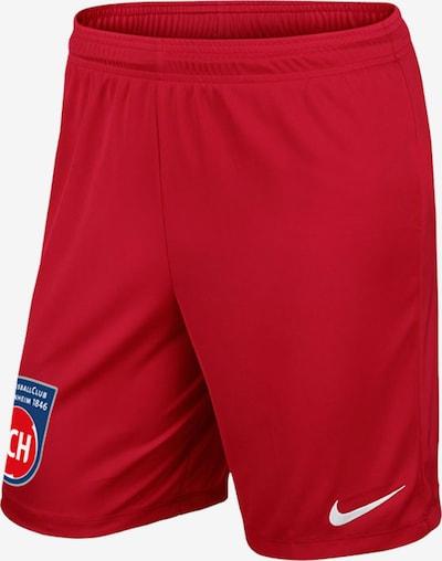 FC Heidenheim Hose in rot, Produktansicht