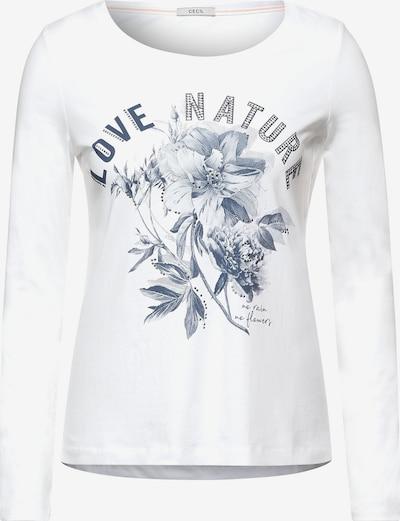CECIL Camiseta en blanco, Vista del producto