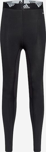 ADIDAS PERFORMANCE Pantalón deportivo 'HYPE' en negro / blanco, Vista del producto