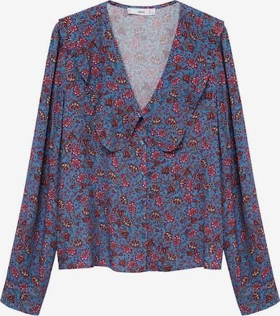 MANGO Bluse 'Greta2' in blau / mischfarben, Produktansicht