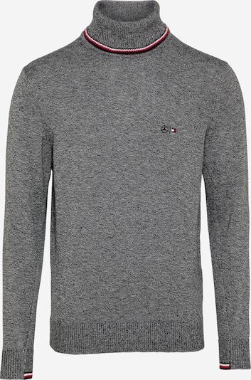 Tommy Hilfiger Tailored Пуловер в сиво / бяло, Преглед на продукта
