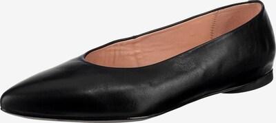 UNISA Ballerina 'Adane' in schwarz, Produktansicht