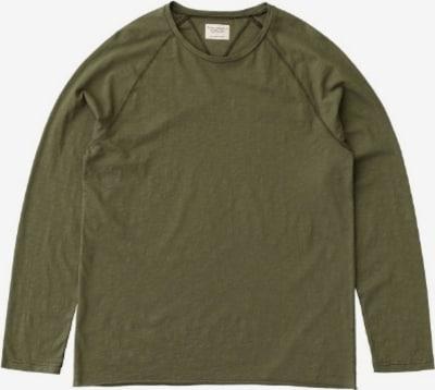 Nudie Jeans Co Shirt ' Otto Raw Hem Slub ' in Olive, Item view
