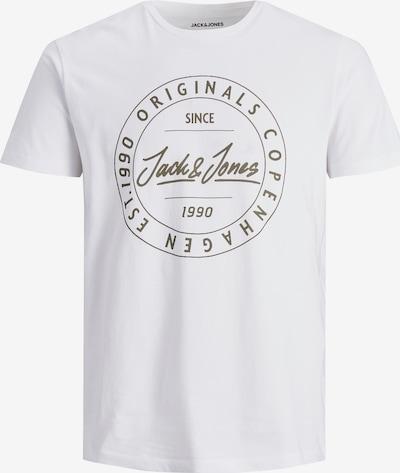 JACK & JONES T-Shirt in schwarz / weiß, Produktansicht