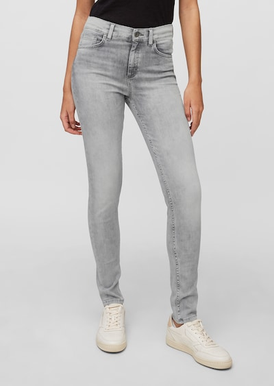 Marc O'Polo Jeans 'SKARA' in grey denim, Modelansicht