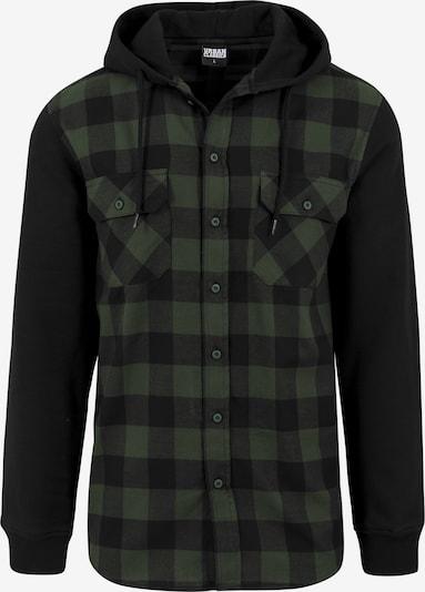 Urban Classics Hemd in tanne / schwarz, Produktansicht