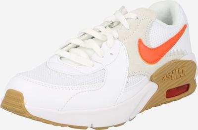 Nike Sportswear Sneaker 'Air Max Excee' in chamois / hellgrau / neonorange / weiß, Produktansicht