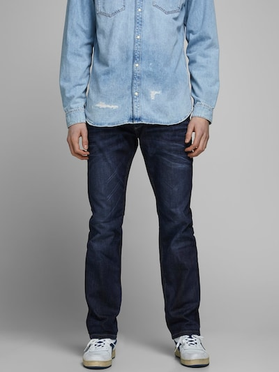 JACK & JONES Jeans 'Clark Original' in Dark blue, View model