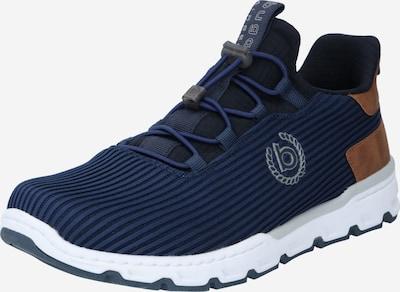 bugatti Sneaker 'Reid' in navy / dunkelblau / hellbraun, Produktansicht
