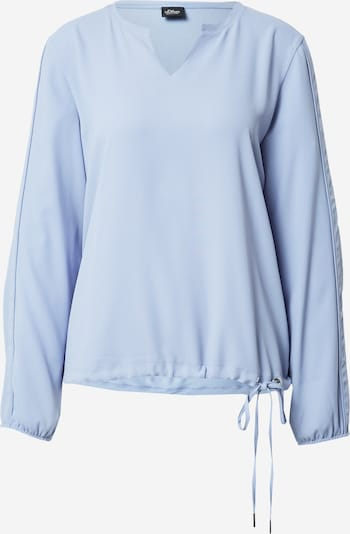 Camicia da donna s.Oliver BLACK LABEL di colore blu chiaro, Visualizzazione prodotti