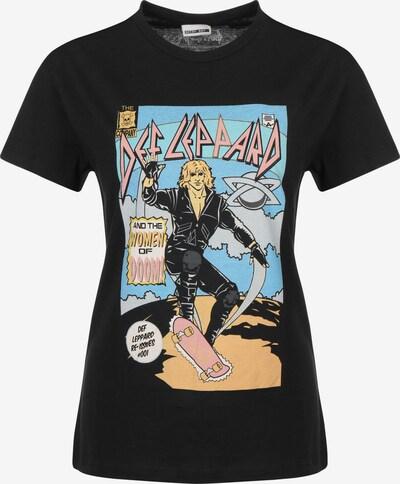 Noisy may T-Shirt 'Command' in mischfarben / schwarz, Produktansicht