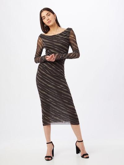 Rochie de seară PATRIZIA PEPE pe bej / negru, Vizualizare model