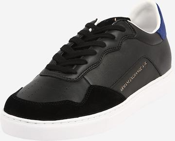 ARMANI EXCHANGENiske tenisice - crna boja