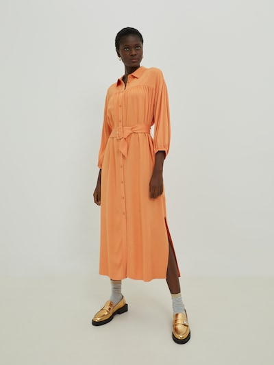 EDITED Kleid 'Nina' in orange, Modelansicht