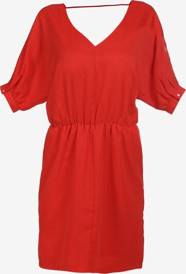 Rochie de vară faina pe roșu, Vizualizare produs