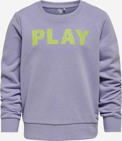 ONLY PLAY Sportief sweatshirt in de kleur Lichtgroen / Lila, Productweergave