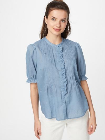 GAP Bluse in hellblau, Modelansicht
