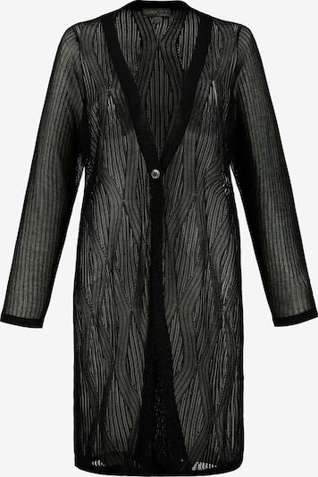 Ulla Popken Cardigan in schwarz, Produktansicht