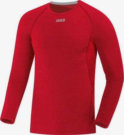 JAKO Unterhemd in grau / rot, Produktansicht