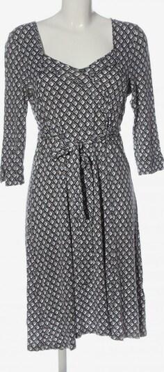 GreenHouse Outfitters Langarmkleid in L in hellgrau / schwarz / weiß, Produktansicht