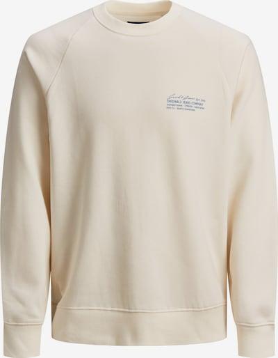JACK & JONES Sweatshirt in wollweiß, Produktansicht