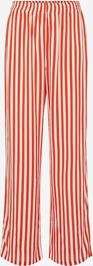 PIECES Hose in rot / weiß, Produktansicht