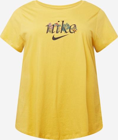 Nike Sportswear Camiseta en azafrán / verde hierba / lila / rojo / negro, Vista del producto