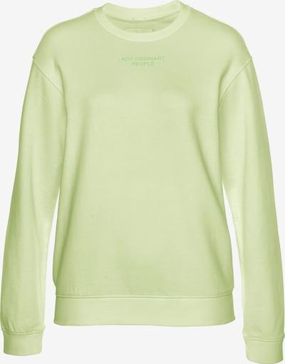 REPLAY Sweatshirt in pastellgelb / hellgrün, Produktansicht