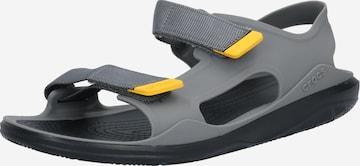 Crocs Ορειβατικό σανδάλι 'Swiftwater' σε γκρι