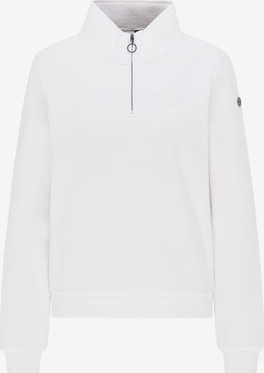 DreiMaster Maritim Sweatshirt in weiß, Produktansicht