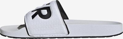 ADIDAS PERFORMANCE Badeschuh in schwarz / weiß, Produktansicht