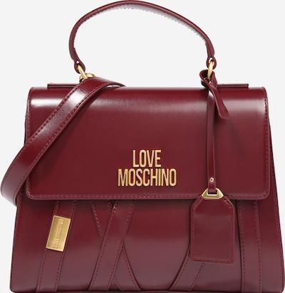 Love Moschino Handväska 'Nero' i vinröd, Produktvy